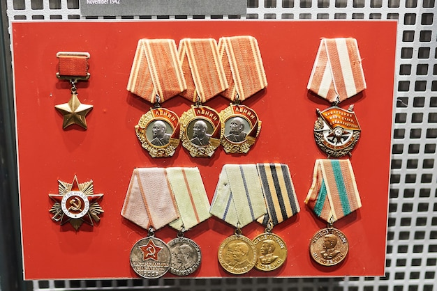 소련 제2차 세계대전 수상 메달