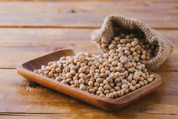 간장 콩 나무 배경