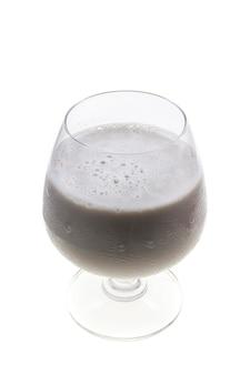 Soy milk  black sesame seeds