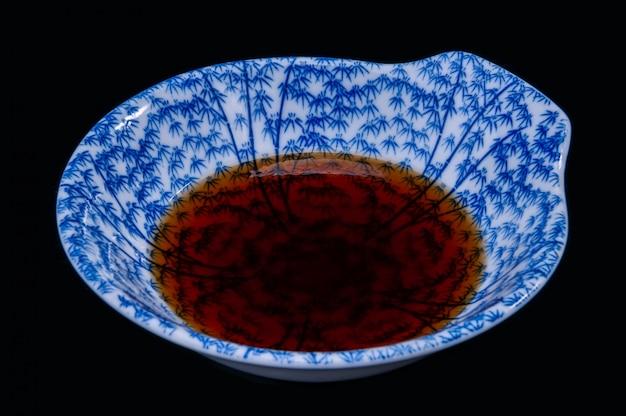 Soy sauce japanese shoyu.