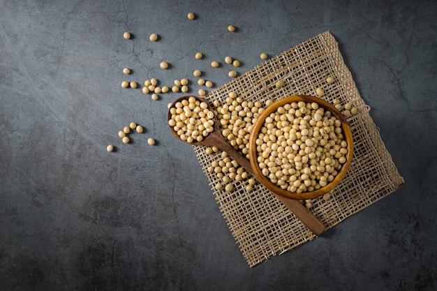 건강 복사 공간을 위한 콩 씨앗