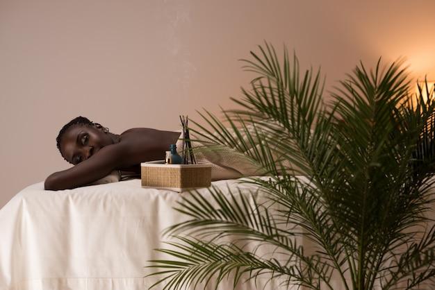 スパアフリカの女性美容院