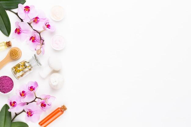 Концепция косметических продуктов спа ароматерапия