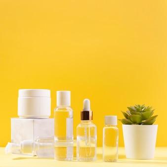 Spa arrangement with creme recipients