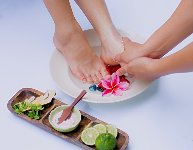 Spa and foot massage