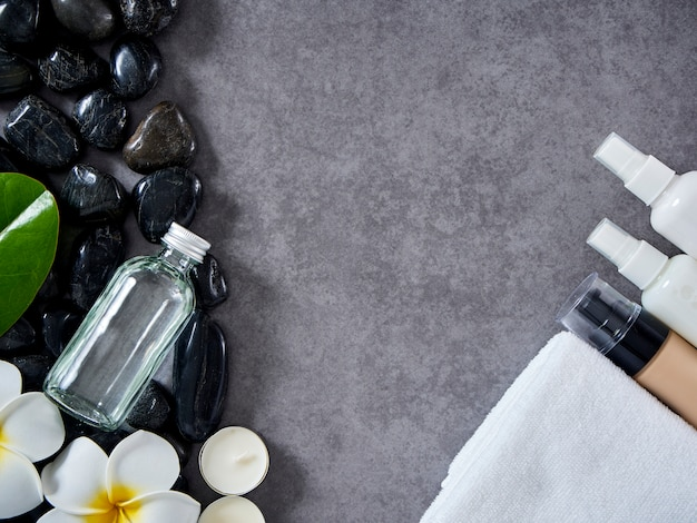 Spa massage concept and skin care