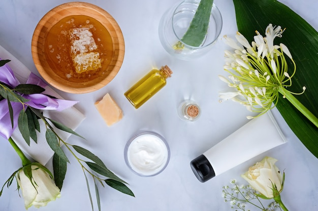 Spa natural skin care products