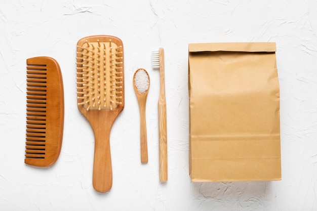 Spa pack hygiene bath scrubbing concept