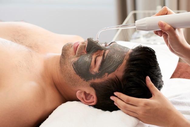Spa procedure in salon