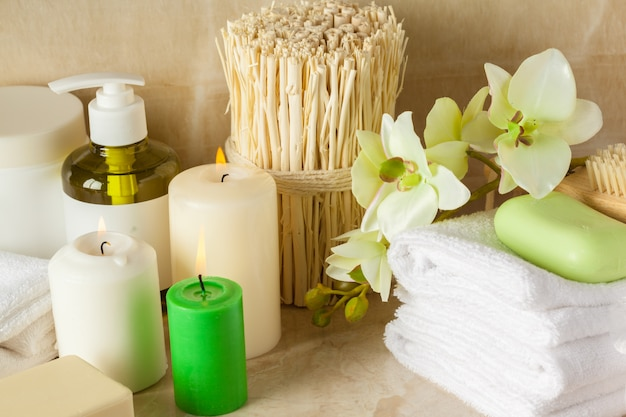 Spa products, spa concept