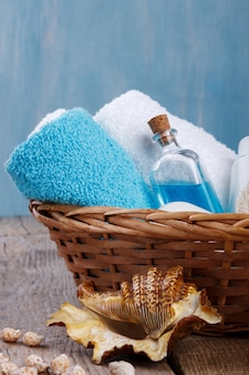 Spa setting and health care items