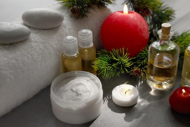 Санаторно-курортное лечение с елочными украшениями