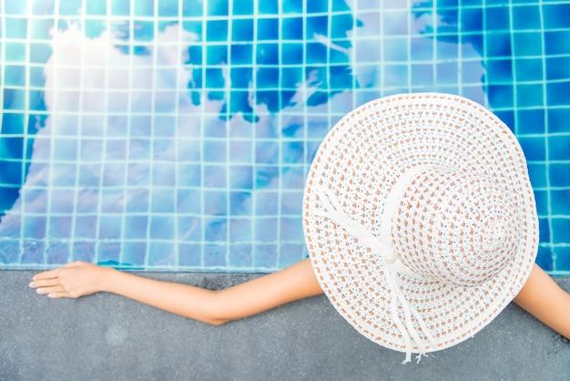 Spa donna cappello corpo bellezza