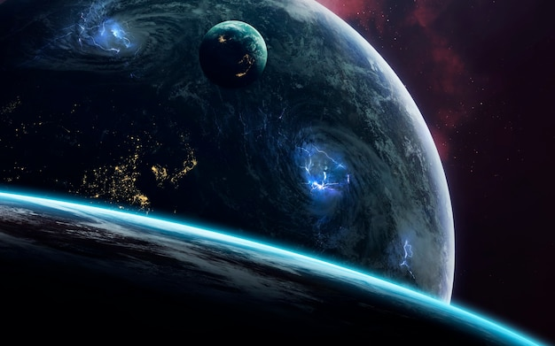 Space art, incredibly beautiful science fiction