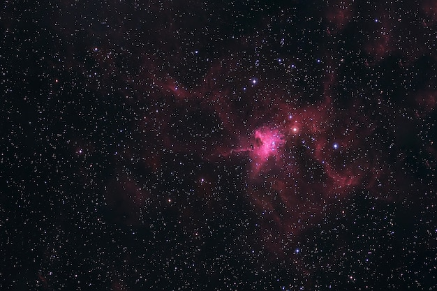 Космическая туманность в глубоком космосе. элементы этого изображения предоставлены наса. для любых целей.