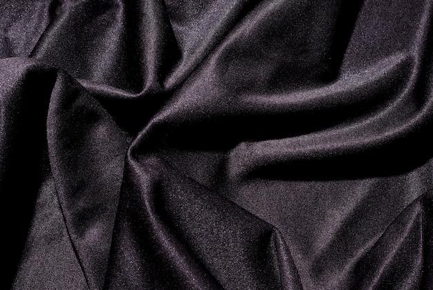 Космос текстура черный ткань лежа волны