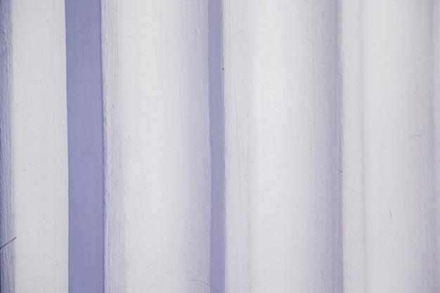Space of white wall, column closeup