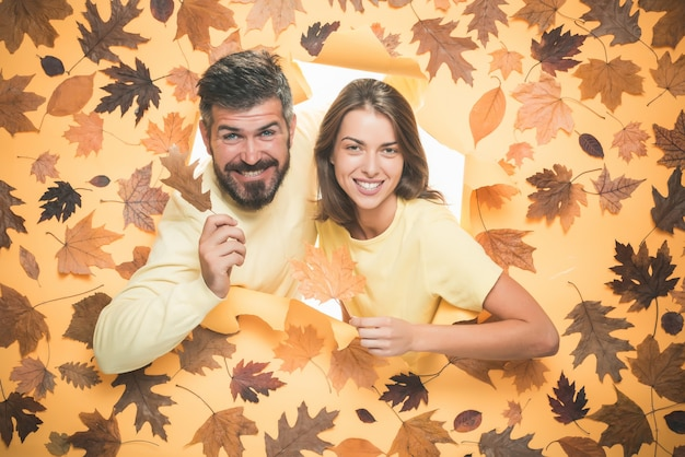 Space for your text hello september happy loving couple promotional products november background aut...