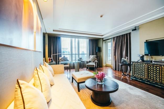 Spacious room with a big window