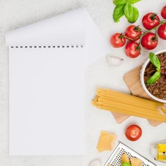 Spaghetii bolognese ingredients