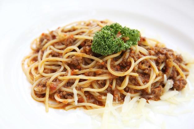 スパゲッティビーフボロネーゼ