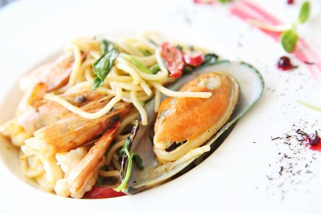 스파게티 해산물