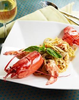 オーストラリアのロブスターのスパゲッティ