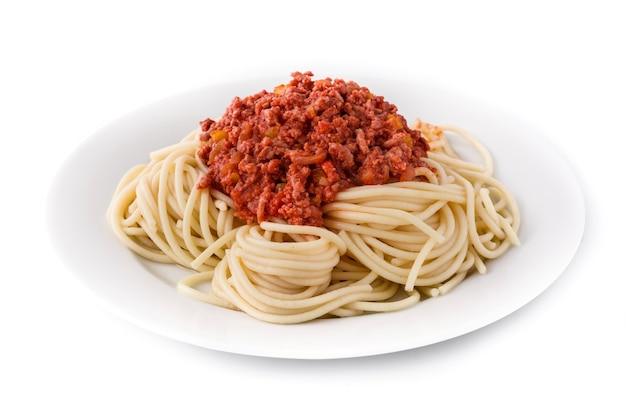 ボロネーゼソースのスパゲッティ