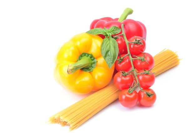 野菜のスパゲッティ