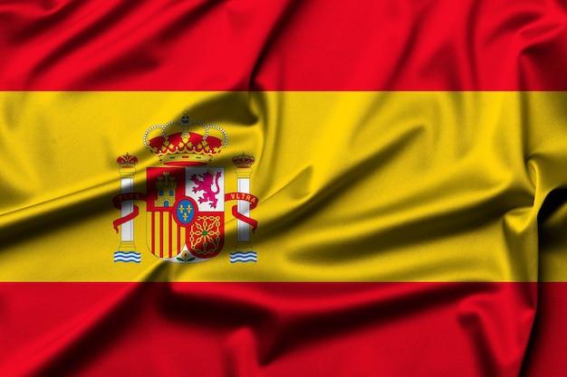 Spain flag as background