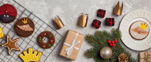 Biscotti e regali dell'epifania spagnola