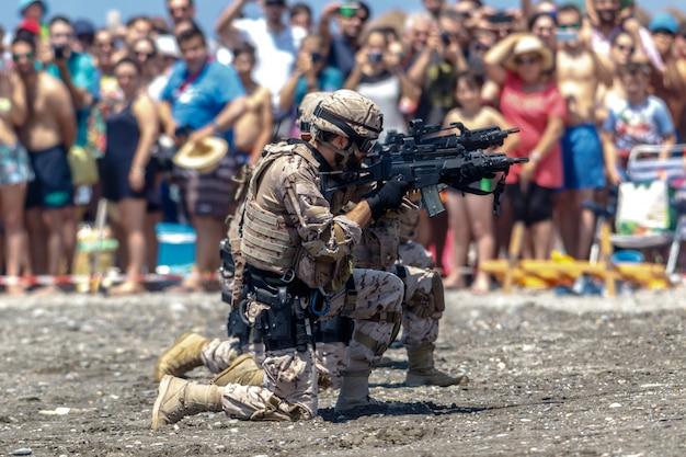 Spanish marines