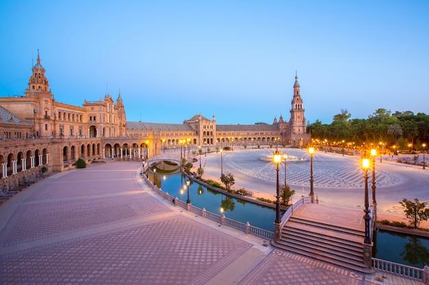Spanish square espana plaza seville