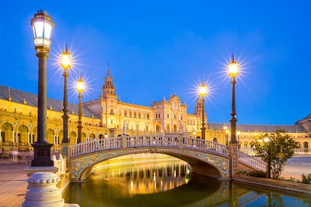 Spanish square seville spain