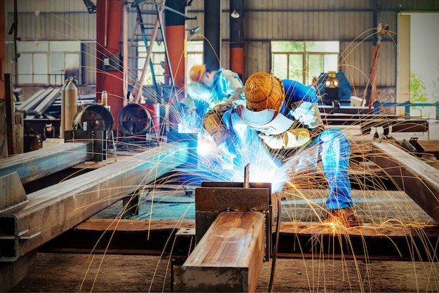 Spark steel plant