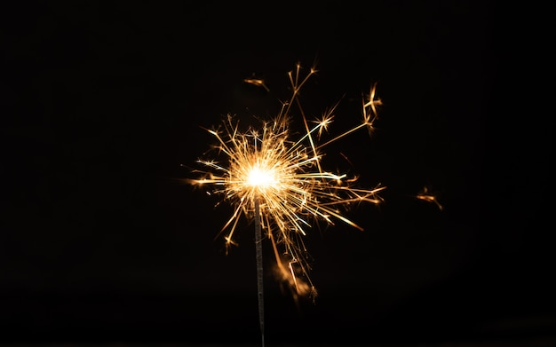Sparkler background.
