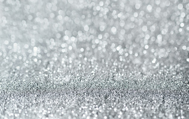 Sparkling glittery surface