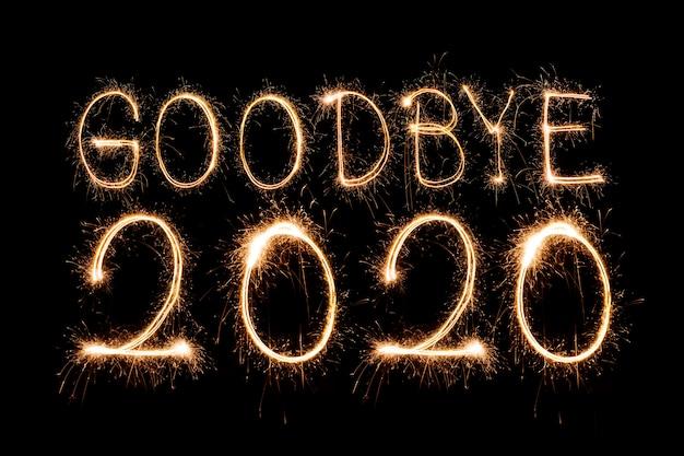 Sparkling goodbye 2020