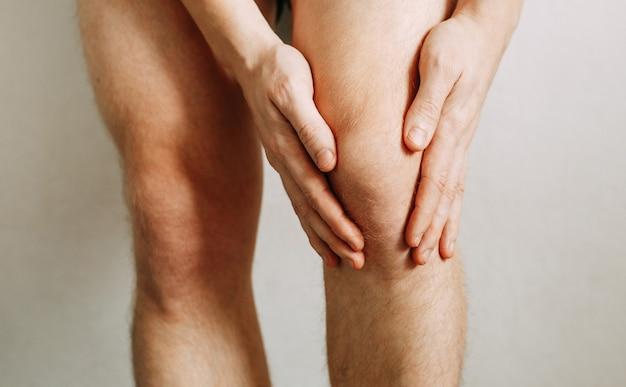 Спазм колена у мужчины травмы суставов утомляемость на работе область травмы