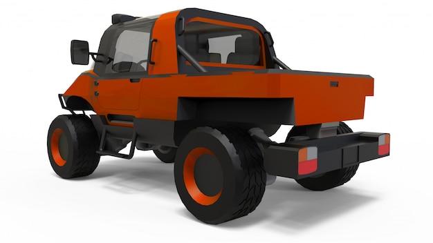 困難な地形、困難な道路および気象条件向けの特別な全地形車両