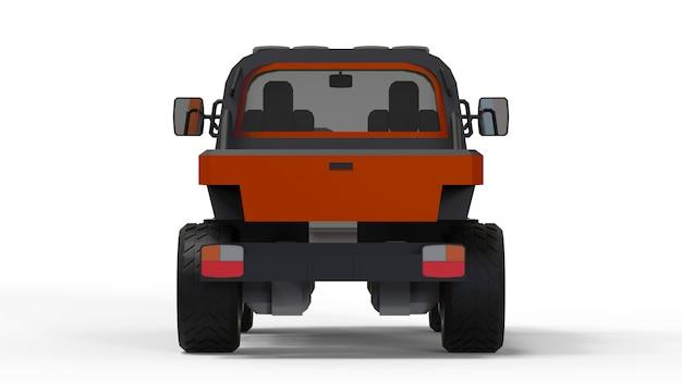 困難な地形、困難な道路および気象条件のための特別な全地形車両