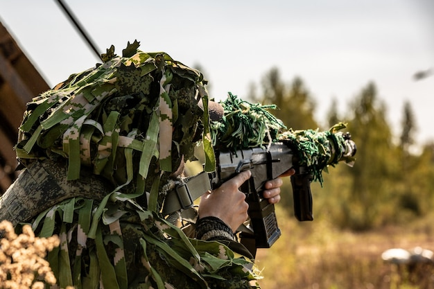 特殊部隊の兵士