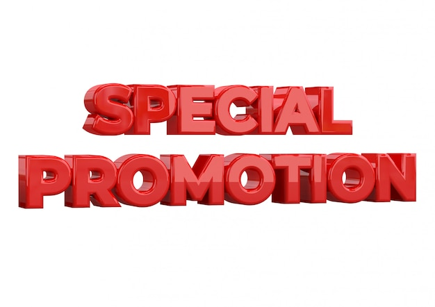 Special promotion banner template design, special promotion