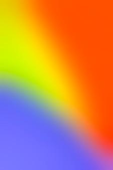 Spettro di colori sfocati luminosi
