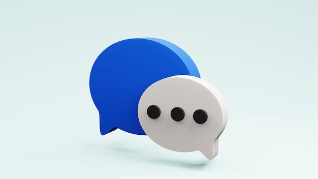 연설 거품 생각 풍선 infographic 디자인 3d 렌더링