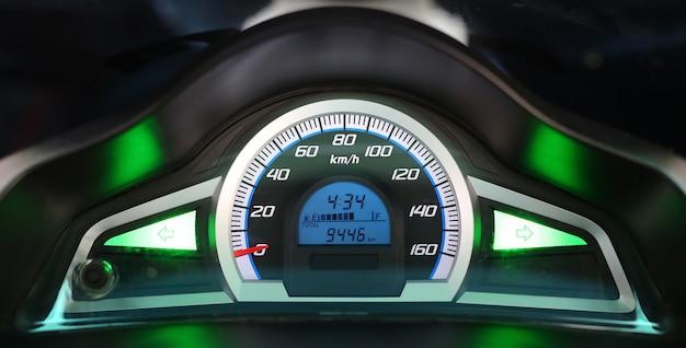 Speedometer of motorcycle