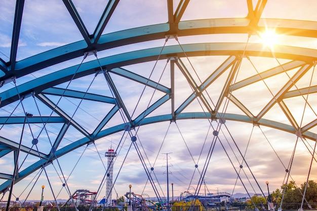 Speer boulevard bridge