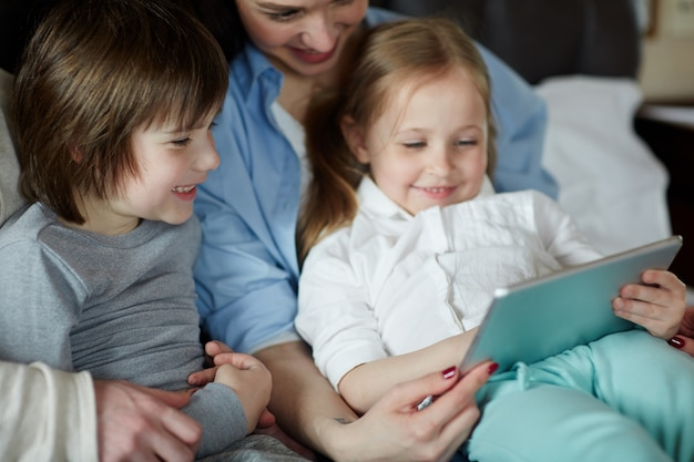 Spending leisure with kids
