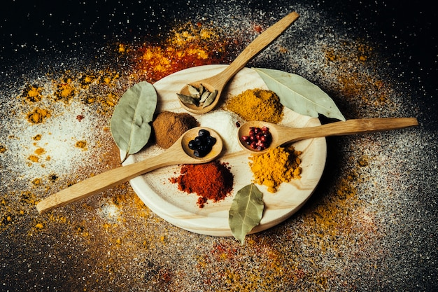 Spices decoration
