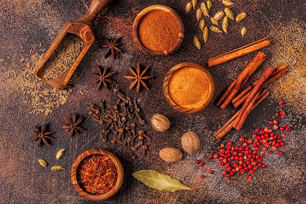 요리 용 향신료 재료